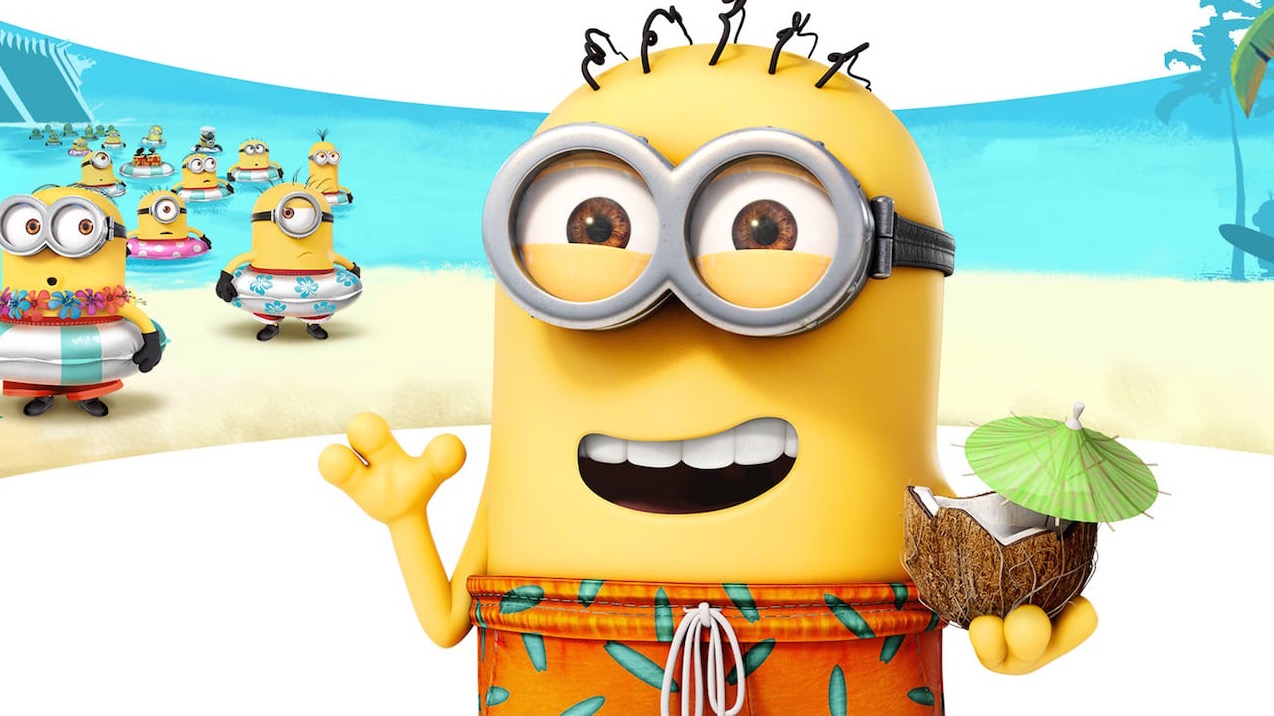 Minion vaping on Vacations