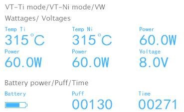 eVic VT VV Mode