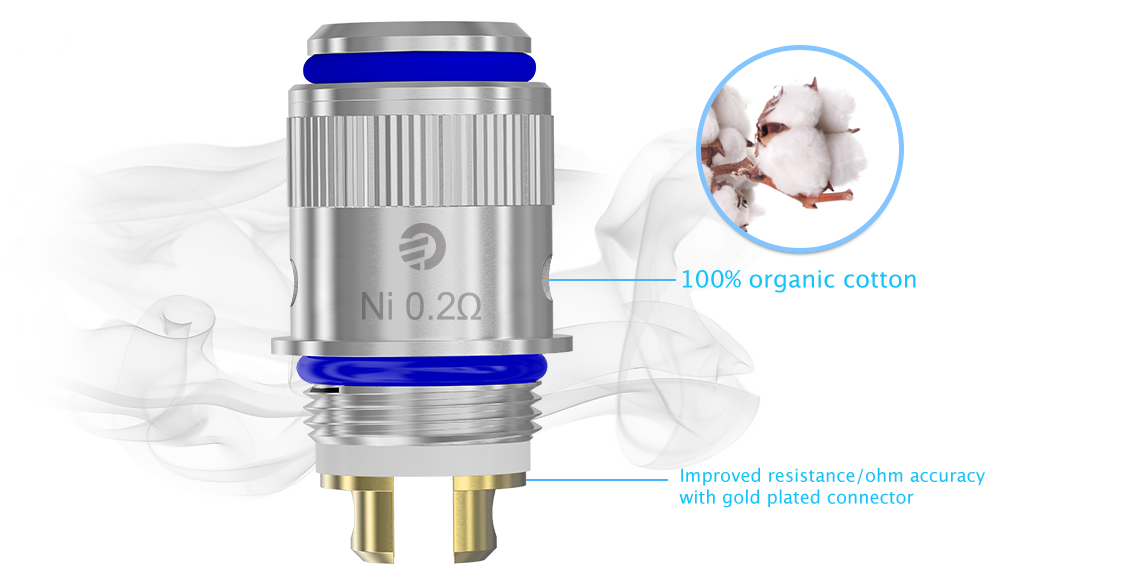 eVic VT Cotton Coil Head